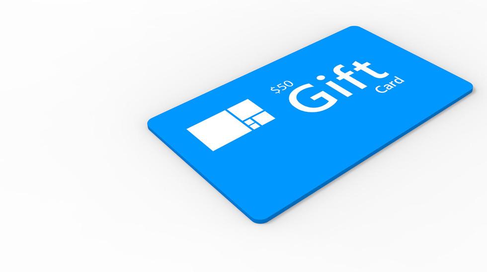 Custom Framing Gift Cards